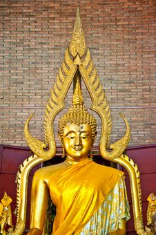 Free The Buddha Status Royalty Free Stock Photography - 17499427