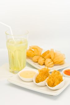 Free Fried Food In  Dim Sum Restaurant Stock Photo - 17499720