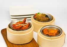 Free Assorted Dim Sum Royalty Free Stock Photography - 17499767