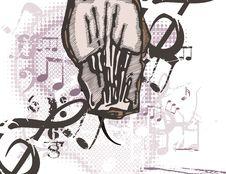 Free Music Instrument Background Royalty Free Stock Photo - 1750345
