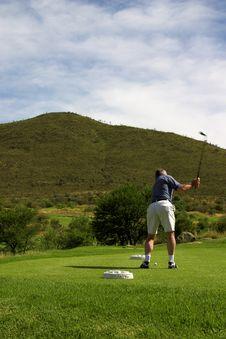 Free Golfer On The Tee Box Stock Photos - 1750683