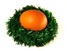 Free Jack From A Tinsel With Egg. Stock Images - 1751644