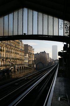 Free Metro To Montparnasse Stock Images - 1752214