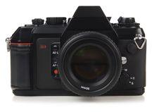 35mm SLR Camera Stock Images