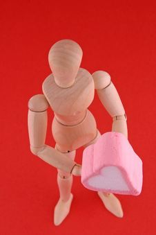 Free Valentine Manikin Stock Photography - 1753982