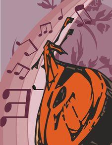 Free Music Instrument Background Royalty Free Stock Photo - 1755355
