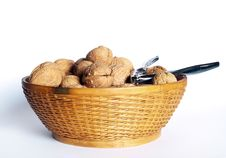 Free Walnuts In A Bowl Royalty Free Stock Photo - 1756075