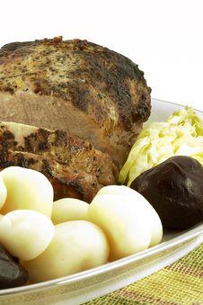 Free Pork Tenderloin Roast Royalty Free Stock Images - 1758589