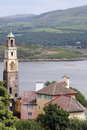 Free View Over Government House, Portmeirion Royalty Free Stock Images - 17501889