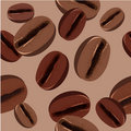 Free Seamless Pattern With Coffee Beans Royalty Free Stock Photo - 17502845
