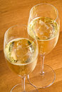 Free Two Glasses Of Champagne Royalty Free Stock Image - 17505326