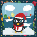 Free Christmas Penguin Stock Photography - 17509292