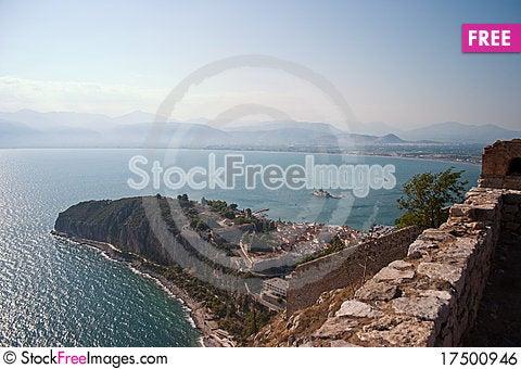 Free Nafplio Bay Royalty Free Stock Image - 17500946