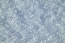 Soft, Fluffy, Christmas Snow Royalty Free Stock Photography