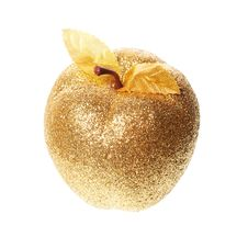 Free Golden Apple Royalty Free Stock Photography - 17500517