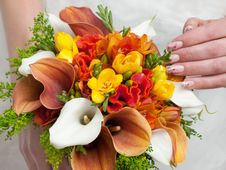 Free Wedding Bouquet Stock Photo - 17500980