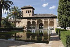 Free Alhambra Palace In Granada Royalty Free Stock Photo - 17501555