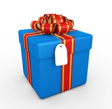 Free Gift Box - 3d Render Royalty Free Stock Photography - 17503797