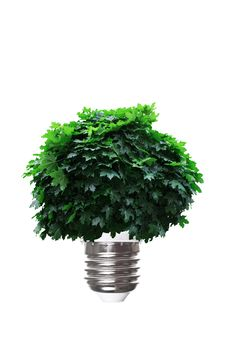 Eco Energy Concept Stock Photo