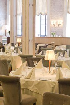 Free Interior Of Restaurant Stock Photo - 17504260
