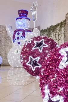Free Big Christmas  Balls Stock Images - 17504634