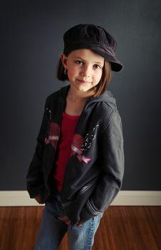 Free Girl With Attitude Royalty Free Stock Photo - 17504655