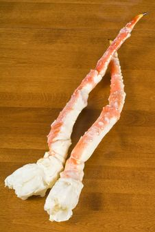 Free Frozen Alaskan King Crab Legs Stock Photos - 17505013