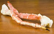 Free Frozen Alaskan King Crab Legs Royalty Free Stock Photo - 17505195