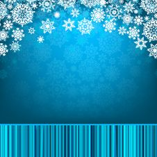 Free Blue Christmas Background. EPS 8 Royalty Free Stock Images - 17505199