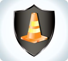 Free Traffic Cone Stock Photo - 17505250