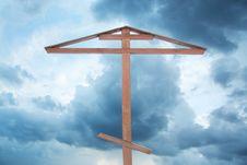 Free Wooden Cross Stock Image - 17506231