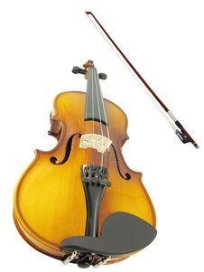 Free Violins And A Fiddlestick Royalty Free Stock Photos - 17506338