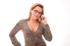 Free Woman On Phone Royalty Free Stock Photography - 17506637