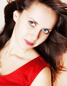 Free Beauty Glamour Woman Stock Image - 17506791