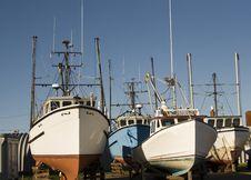 Free Fishing Boats Stock Image - 17507031