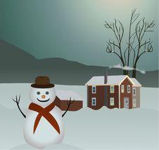 Free Snowman Stock Photo - 17507060