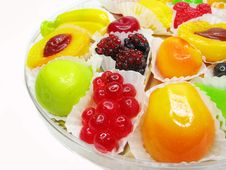 Free Marmalade Gelatin Fruits Royalty Free Stock Photography - 17507087