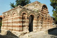 Free Church Of Archangels Michael And Gabriel,Nesebar Royalty Free Stock Image - 17507206