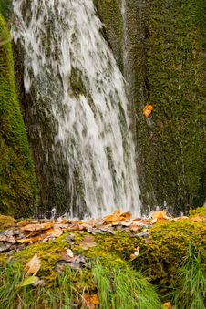 Free Waterfall Close Royalty Free Stock Image - 17508006