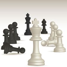 Free Chess Game Royalty Free Stock Image - 17508496