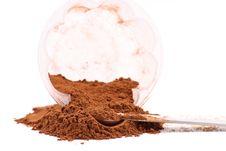 Free Ground Cinnamon Powder Spice Stock Image - 17508631