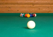 Pool Balls. Stock Photos