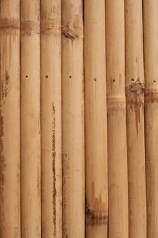 Free Old Bamboo Texture Royalty Free Stock Photos - 17508958