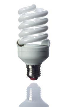 Free Fluorescent Light Bulb Royalty Free Stock Image - 17509676