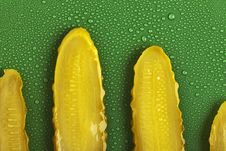 Free Cucumber Slices Stock Images - 17509884