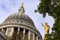 Free St Paul`s Cathedral, London Stock Images - 17510694
