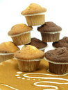 Free Fresh Baked Muffins Royalty Free Stock Photo - 17519915