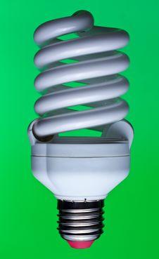 Free Energy Saving Lamp Stock Photography - 17510002