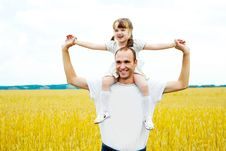 Free Father And Daughter Stock Photography - 17510172