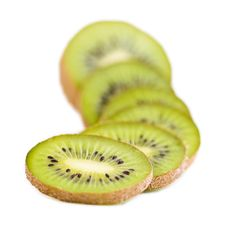 Free Kiwi Slices Stock Photography - 17510382